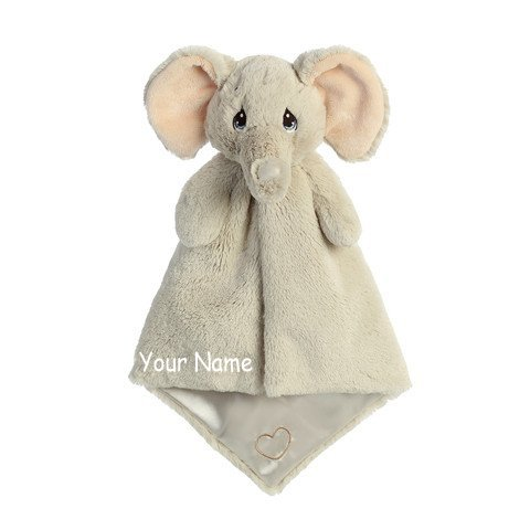 Personalized Elephant Luvster Snuggle Blanket