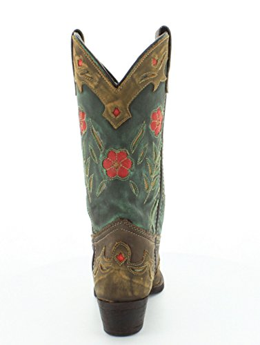 Laredo Dames Miss Kate Western Boot Groenblauw