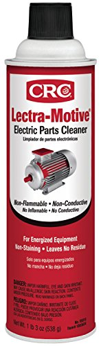 - CRC 05018 Lectra-Motive Electric Parts Cleaner - 19 Wt Oz.