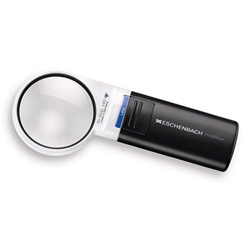 Eschenbach 5X Mobilux LED Illuminated Pocket Magnifier by Eschenbach