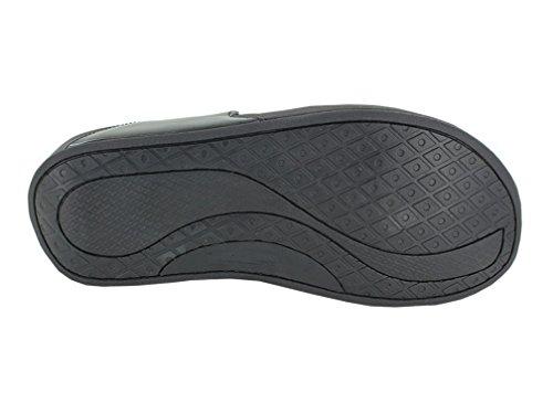 Exerstep Women's Thong Rocker Bottom Sandals,Silver,6 M US