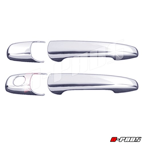 A-PADS 2 Chrome Door Handle Covers for Ford MUSTANG 2005-2014 - WITHOUT Passenger ()