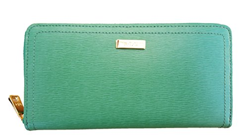 Lauren Ralph Lauren Lowell Zip Wallet (One Size, Fern) by Lauren by Ralph Lauren