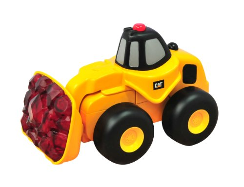 Toy State Caterpillar Rumblin' Ride Wheel Loader Vehicle