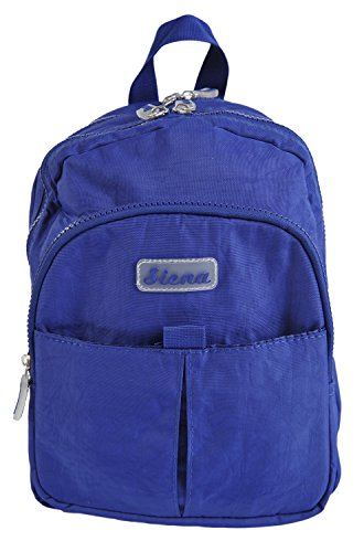 Siena - Bolso mochila para mujer Small azul real