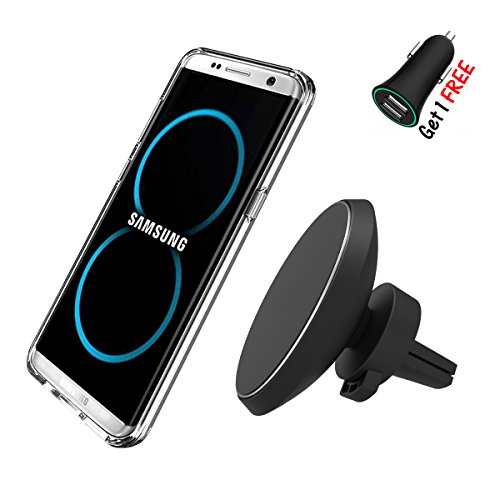 Picture of a Magnetic Wireless Car Phone Charger 738770197056