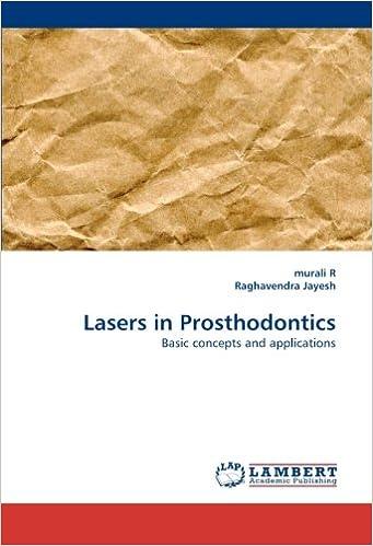 Descargar Por Utorrent Lasers In Prosthodontics Libro Patria PDF