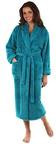 VEAMI Womens Microfiber Fleece Bathrobe