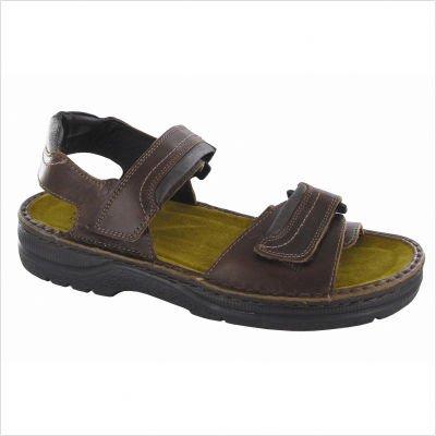 Naot Men's Lappland Sandal Black Matte Size 48 EU (14.5-15 M US Men)
