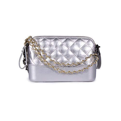 Classic Elegance femmes Sac Sac Golden matelassé Mini à argenté pour Chain Sweet bandoulière 0wUBY