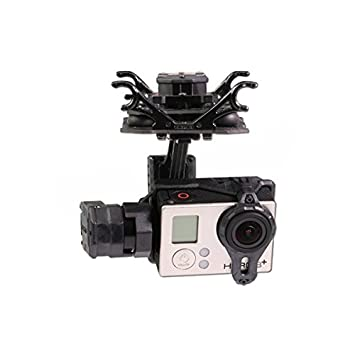 HELEISH Tarot T4-3D Amortiguador Doble 3 Ejes Gimbal PTZ for Gopro ...