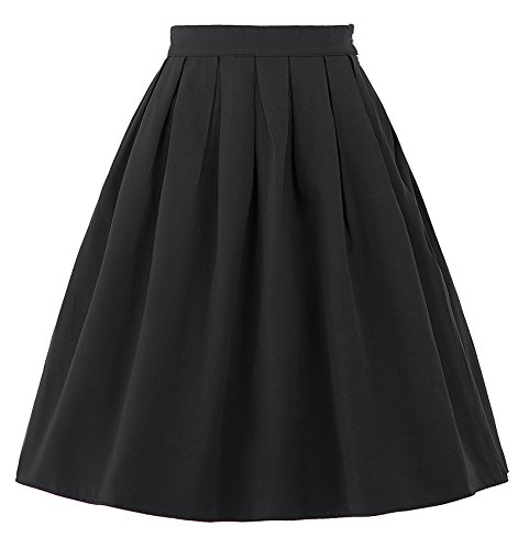 Belle Poque Vintage Retro Casual Summer Swing Skirts