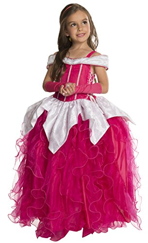 Rubie's Deluxe Princess Michelle Costume, Pink, (Toddlers And Tiaras Halloween Costume Shoes)