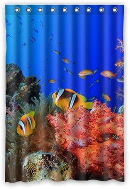 Dalliy pescado disfraz cortina de la ducha Shower Curtain 120 cm x ...