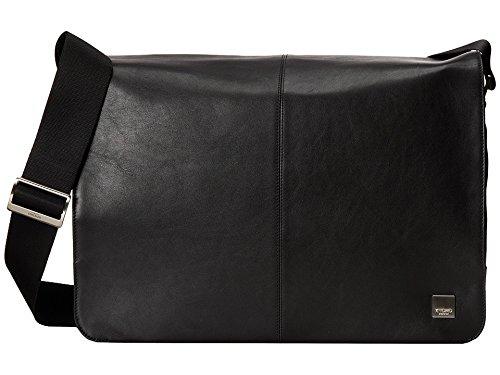 [ノモ ロンドン] KNOMO London メンズ Brompton - Bungo 15.6 Expandable Messenger ショルダーバッグ [並行輸入品]  ブラック B01MQSL3B8