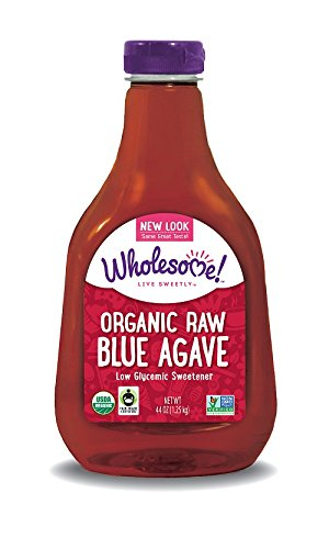 Wholesome Sweeteners Fair Trade Certified Organic Blue Agave, Raw, 44 Ounce (Nectar Sweetner)