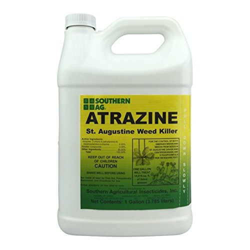 Southern Ag Atrazine St. Augustine Weed Killer, 128oz – 1 Gallon by Southern Ag