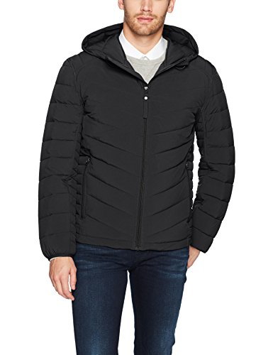 Black Men's Ultra York Delavan New Marc Jacket Hooded Packable Marc Stretch Andrew by H7aqpw