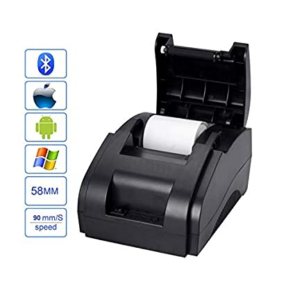Impresora térmica de alta calidad de 58 mm, impresora de recibos ...