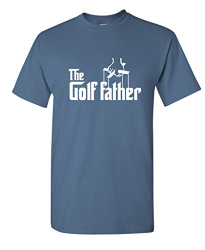 The Golf Father Golfers Fathers Day Gift for Dad T-Shirt 3XL Dusk