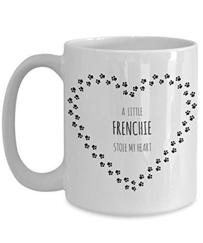 Frenchie Dog Coffee Mug - Cute French Bulldog Coffee Cup -Makes The Perfect Gift For The Bulldog Lover- Bulldog Mom