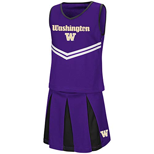 Colosseum Youth NCAA-Girls Cheer Set-Washington Huskies-Youth ()