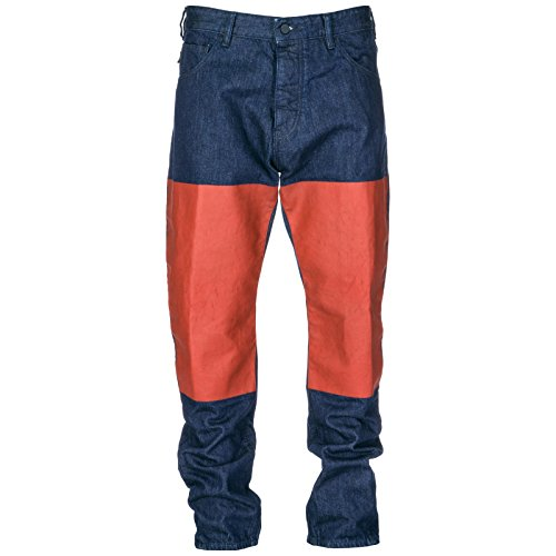 Armani Emporio Vaqueros Hombre Jeans Nuevo BLU Denim de Pantalones ASadSwq