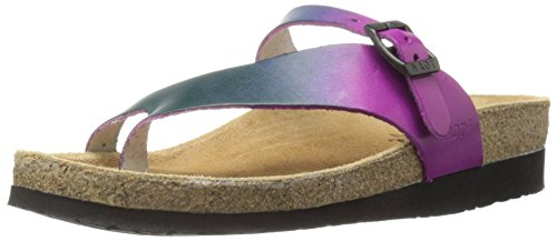Naot Footwear Women's Tahoe-Hand Crafted, Purple Teal Leather, 42 (US Women's 11) M by Naot Footwear