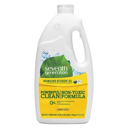 Seventh Generation Natural Dishwasher Gel - Gel - 42 oz (2.62 lb) - Lemon Scent
