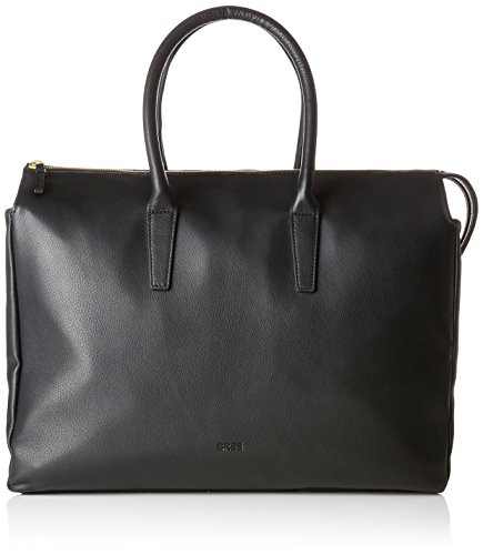 Bree - Kimo 4, Black, Workbag M, Bolso Mujer, Schwarz (Black), 12x31x36 cm (B x H T)