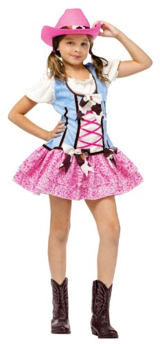Girls Cowgirl Costume Sweetie Halloween