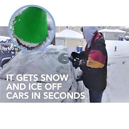 Clearance Sale Round Ice Scraper, Car windshield snow Scraper, Cone shaped Ice Scrapers by Bookear (Image #1)
