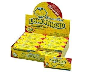 Lemonheads Medium Box - 24 / Box
