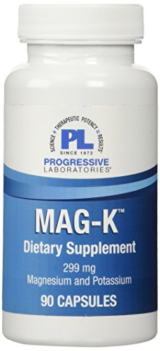 Progressive Labs Mag-K Supplement, 90 Count