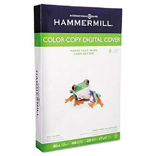 Hammermill - Copier Digital Cover Stock, 80 lbs., 17 x 11, White, 250 Sheets 12003-7 (DMi PK