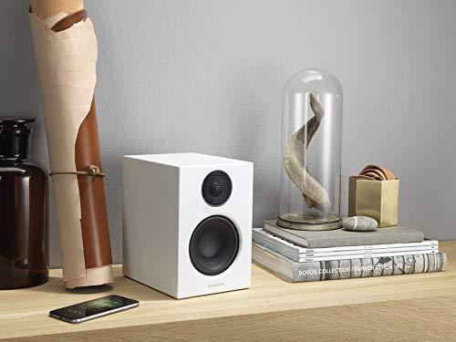 Audio Pro Addon T14 Blanco Altavoz - Altavoces (2.0 Canales, Inalámbrico y alámbrico, 3.5mm/Bluetooth, 45-25000 Hz, Blanco)