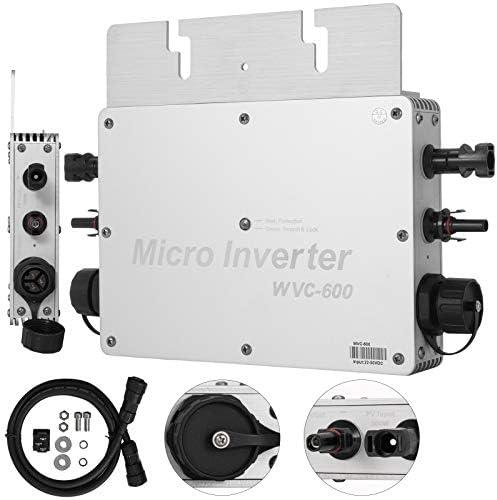 Frantools Solar Grid Tie Micro GTI Wechselrichter WVC 600 Wasserdicht MPPT 600W 220V