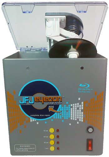 JFJ One-Step Eyecon Mini Video Game, CD, DVD, - Cd Resurfacer