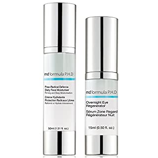 Skin Pharmacy Free Radical Defence Daily Moisturiser and Overnight Eye Regenerator, 250 Gram
