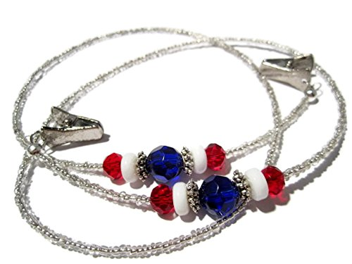ATLanyards Red White and Blue Eyeglass Holder - Patriotic Glasses Chain by ATLanyards