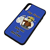 UNIGIFT Personalised Gift - Farmer Male iPhone X Case (Occupation Design Colour) Any Name Message Unique - Apple TPU Cover iPhoneX Job Fruit Field Harvester Vegetable Grazier Tractor Orchard