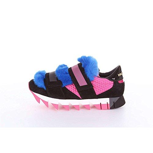 Dolce & Gabbana Dolce & Gabbana Ck0084ad835 Donna Sneakers Nere E Rosa