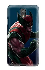 High Grade Hxy Flexible Tpu Case For Galaxy Note 3 - Wolverine Character
