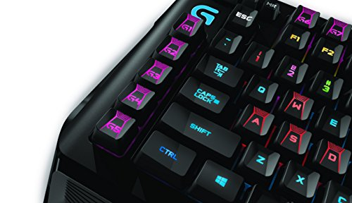 Logitech G910 Orion Spark RGB Mechanical Gaming Keyboard – 9 Programmable Buttons, Dedicated Media Controls by Logitech (Image #5)