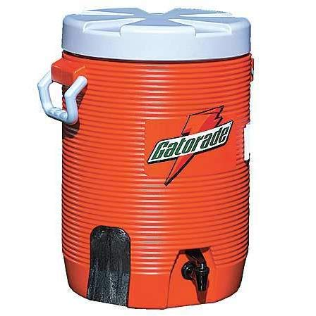 Water Coolers - 5-gallon cooler w/fastflowing spi Gatorade 308-49201