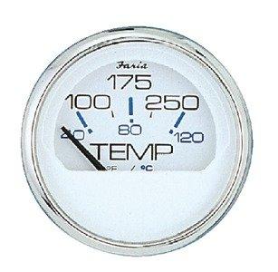 Faria 3003.3561 13805 Voltmeter-Chesapeake White ()