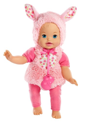 [Little Mommy Dress Up Cutie Bunny Doll] (Fire And Ice Party Costumes)