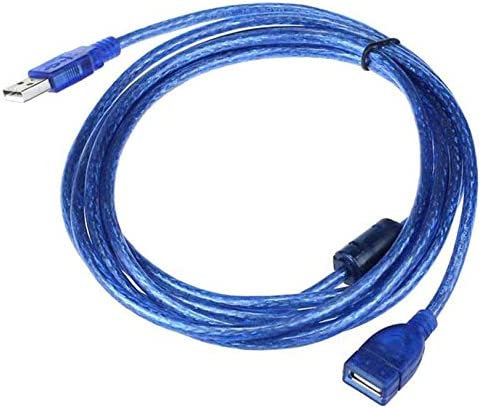 Generic 10FT 2-3M USB 2.0 A Male M to A Female for Extension Cable Jun14 Professional Factory Price Drop Shipping Blue 2m