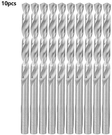 10-piece HSS straight stem helical drill bit for drilling 6.0 mm High speed steel helical drill set