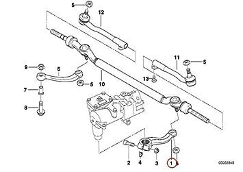 amazon com bmw genuine steering pitman arm steering box to center rh amazon com F350 Pitman Arm Diagram 1992 Ford F-350 Pitman Arm Diagram